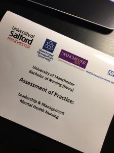 Manchester University Mental Health Nursing Assessment