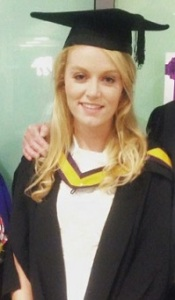 Alice Coltman graduation