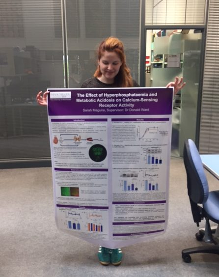 Scientific research poster