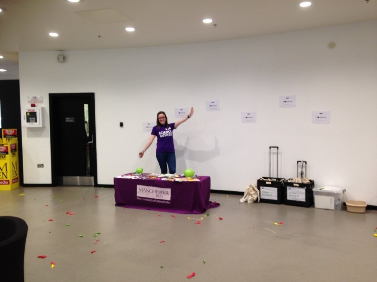 Amie Peltzer at open day