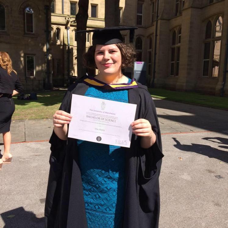 Ellie Welch graduation