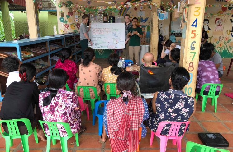 Giving a Presentation on Hypertension to the Silk Islands community.jpg