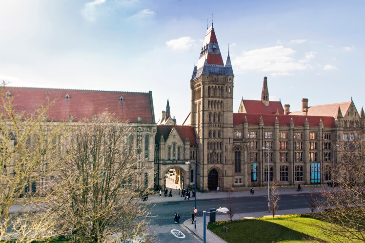 Whitworth Hall and Oxford Road